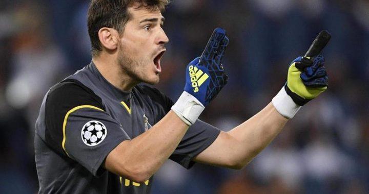 Iker Casillas z ZAWAŁEM serca!