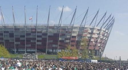 BOMBA na Stadionie Narodowym! Mecz Polska vs Izrael.