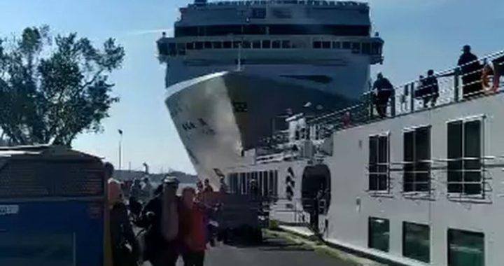 DRAMAT w Wenecji! Zderzenie STATKÓW! Wideo.