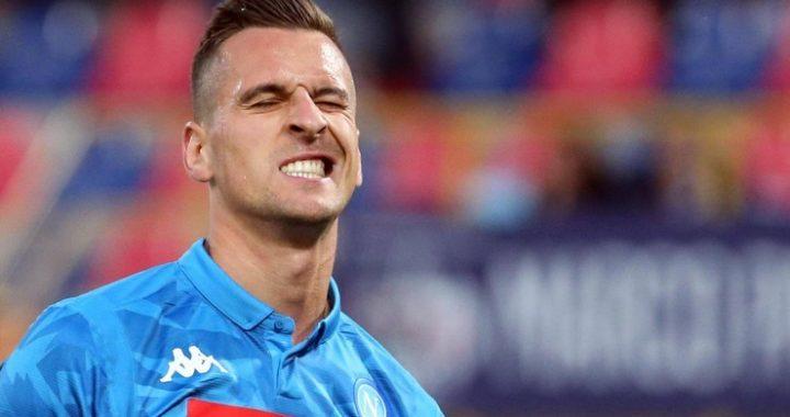 FC Barcelona – Napoli! Milik nie trafia do pustej bramki! [WIDEO]