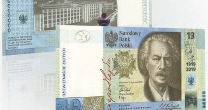 Nowy banknot 19 zł trafia do obiegu! Będzie dostępny za kilka dni