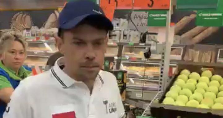 AWANTURA w sklepie! Rolnicy WESZLI do Biedronki!