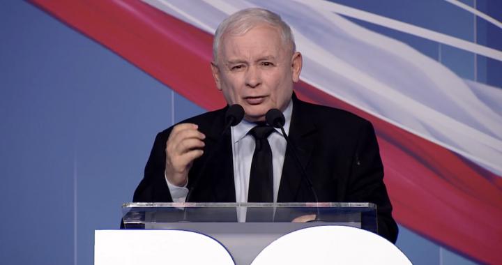 """Konwencja PiS w Łodzi! Kaczyński """"I będziemy to robili, niezależnie od tego jak inni będą na nas krzyczeli."""""""