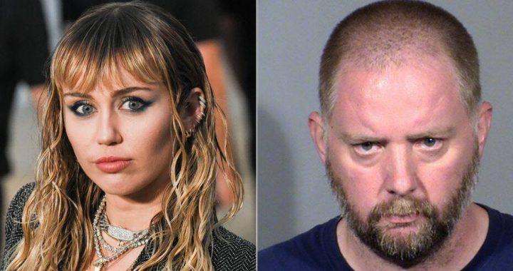 Prześladowca Miley Cyrus trafił w ręce policji. Czego od niej chciał?