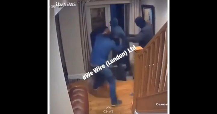 Obronił dom przed trzema zamaskowanymi złodziejami! Zobacz w jaki sposób się z nimi rozprawił!