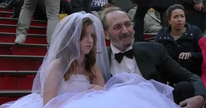 65-latek pozował do sesji zdjęciowej ze swoją 12-letnią żoną! Zobacz, jak zareagowali na to Amerykanie!