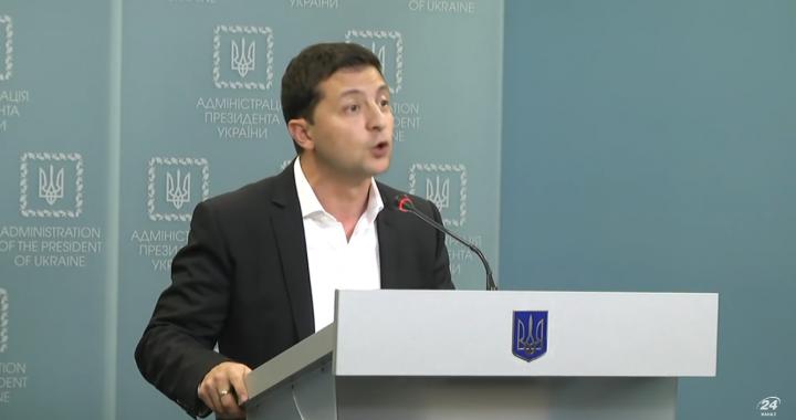 Ostre przemówienie prezydenta Ukrainy!