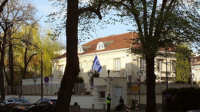 Ambasada Izraela w Warszawie zawiesiła funkcjonowanie!!! Co sie stało?