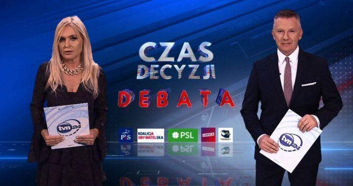 Wybory 2019: Debata w TVN. Zobacz, kto wystąpi