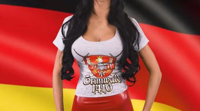 Godlewska wzięła na warsztat hymn Niemiec! Szokujące VIDEO!