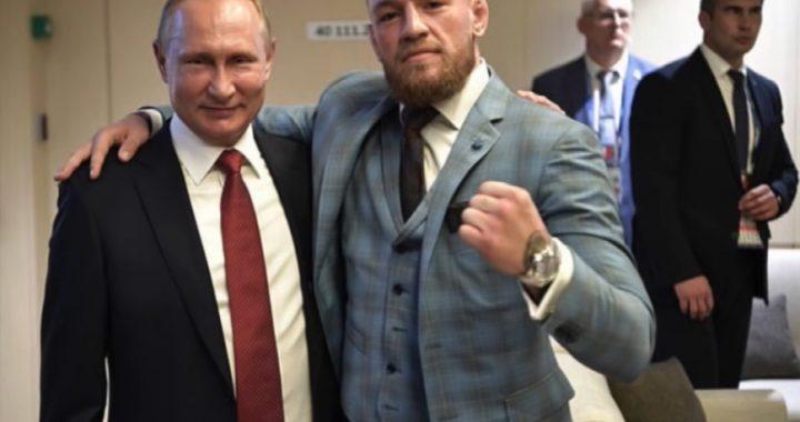 Zawodnik MMA obok Putina! Ochrona zareagowała!