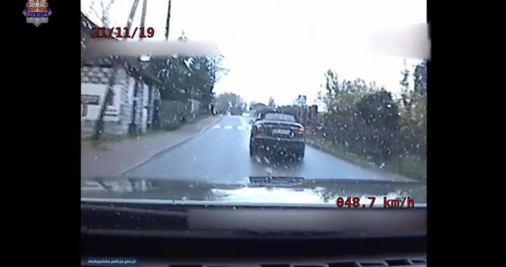 Policyjne BMW vs Mercedes AMG! Pościg na Zakopiance!