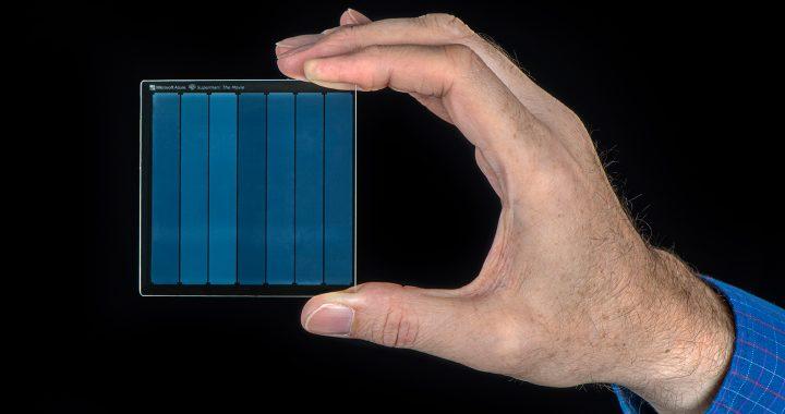 Dane zapisane na kawałku… szkła! Rewolucja w technologii od firmy Microsoft.