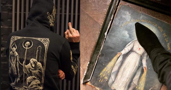 Znany polski MUZYK zdeptał obraz Matki Boskiej. Głos w tej sprawie zabrała prokuratura!