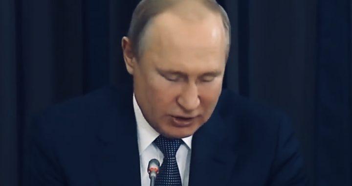 TO nagle stało się z Putinem w trakcie przemówienia! Wideo.