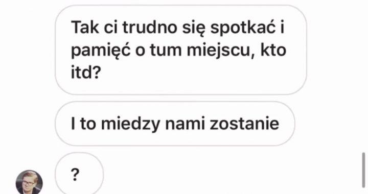 """""""Nic się nie stało"""": UJAWNIONO nocne SMS-y Latkowskiego! Pisał, że chce…"""