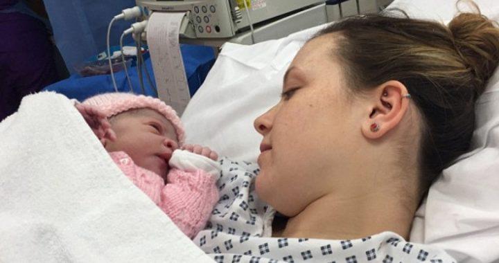 NIE WIEDZIAŁA o ciąży do skurczów porodowych! Przytyła tylko 1,5 kilo