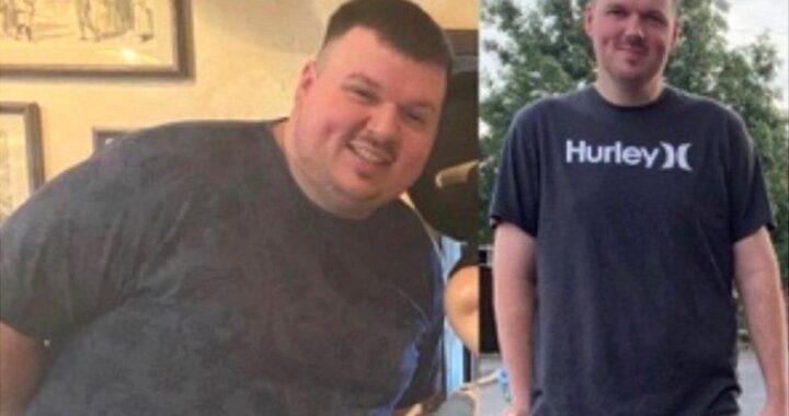 Brytyjczyk schudł 76kg podczas lockdownu! Zrobił to dla dzieci! Łagodniej przeszedł koronawirusa!